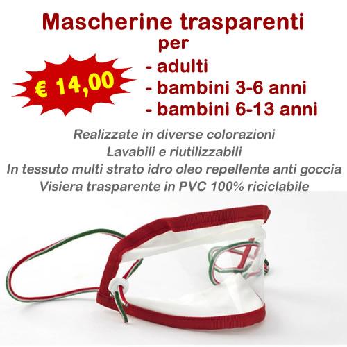 Mascherine-visiera